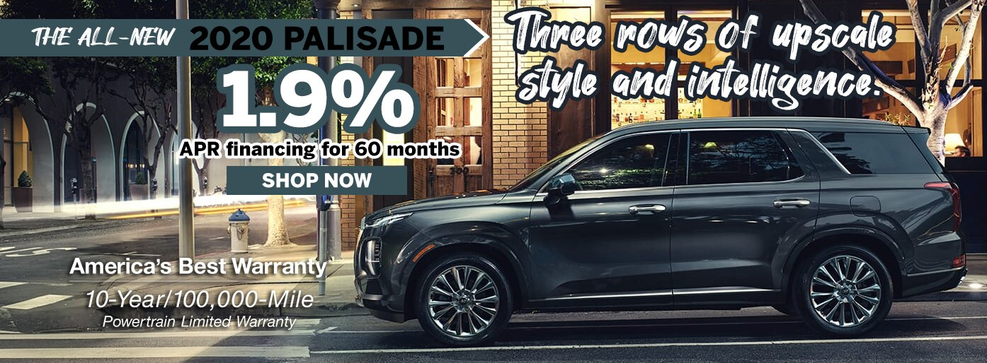 Hyundai Palisade Low APR Finance Deal