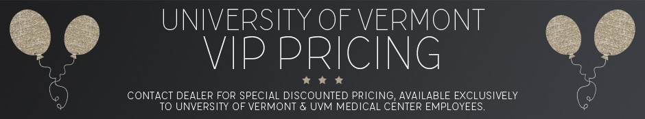 University of Vermont VIP Pricing