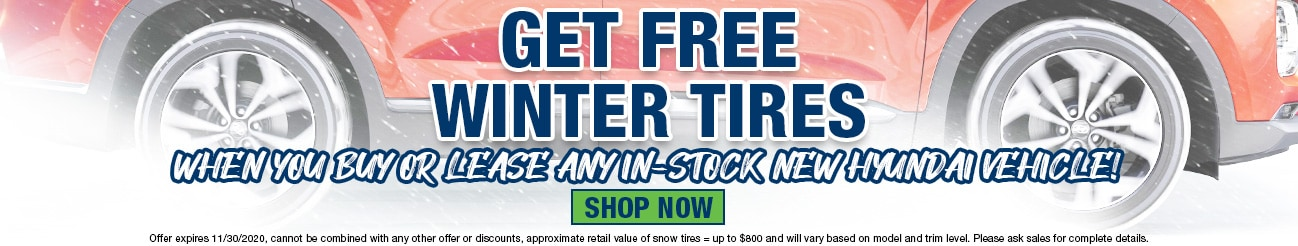 Free Winter Tires with Purchase