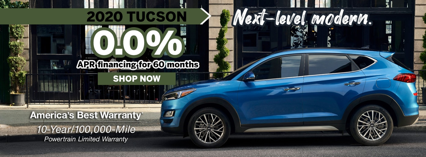 Hyundai Tucson Low APR Finance Deal