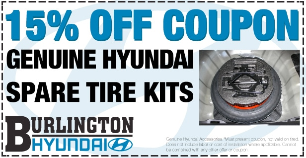 Hyundai Spare Tire Coupon