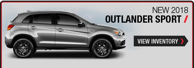 New 2018  Mitsubishi Outlander Sport Deals