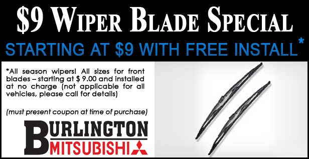 Mitsibishi Wiper Blade Coupon