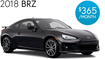 2018 Subaru BRZ Lease Deal
