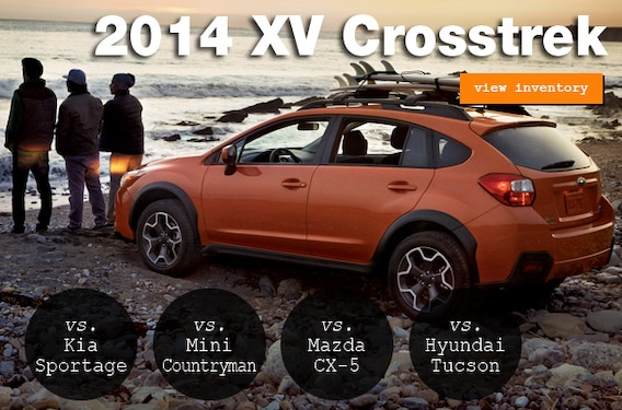 Compare the 2014 XV Crosstrek to the Competition