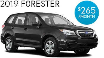 Subaru Forester Lease Deal
