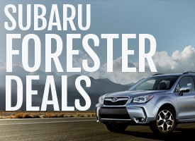 Subaru Forester Deals