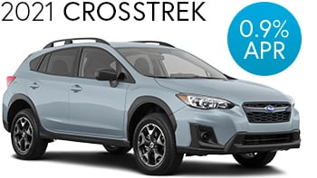 2021 Subaru Crosstrek Finance Deal