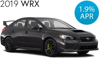 Subaru WRX Finance Deal