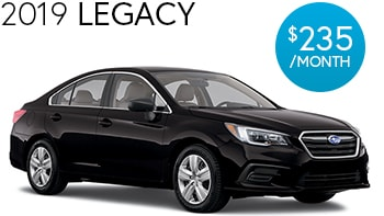 Subaru Legacy Lease Deal