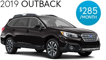 Subaru Outback Lease Deal