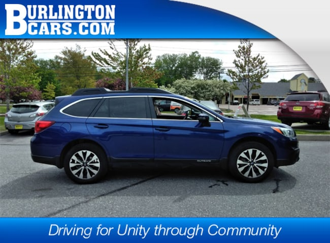 2017 Subaru Outback 3.6R Limited with SUV