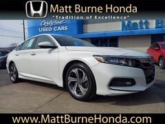 Used vehicles 2018 Honda Accord EX 1.5T Sedan 1HGCV1F42JA033769 for sale near you in Scranton, PA