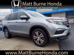Certified pre-owned Honda vehicles 2018 Honda Pilot EX-L SUV for sale near you in Scranton, PA