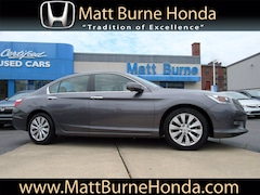 Certified pre-owned Honda vehicles 2015 Honda Accord EX-L Sedan for sale near you in Scranton, PA