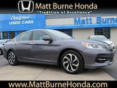 Certified pre-owned Honda vehicles 2016 Honda Accord EX-L w/navigation & honda sensing Sedan for sale near you in Scranton, PA