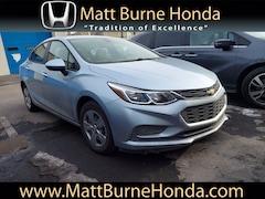 Used vehicles 2017 Chevrolet Cruze LS Sedan 1G1BC5SM9H7211027 for sale near you in Scranton, PA