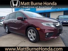 Certified pre-owned Honda vehicles 2018 Honda Odyssey EX-L Van for sale near you in Scranton, PA