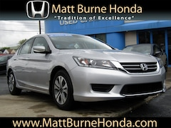 Certified pre-owned Honda vehicles 2015 Honda Accord LX Sedan for sale near you in Scranton, PA