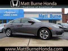Used vehicles 2017 Honda Civic LX Sedan 2HGFC2F51HH524170 for sale near you in Scranton, PA