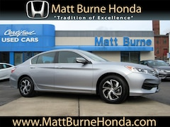 Certified pre-owned Honda vehicles 2017 Honda Accord LX Sedan for sale near you in Scranton, PA