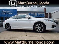Certified pre-owned Honda vehicles 2017 Honda Accord LX-S Coupe for sale near you in Scranton, PA