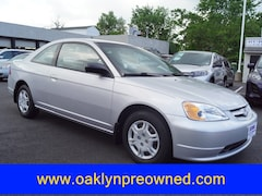 2002 Honda Civic LX w/Side SRS Coupe