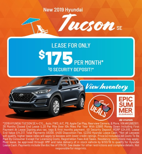 2019 - Tucson - August