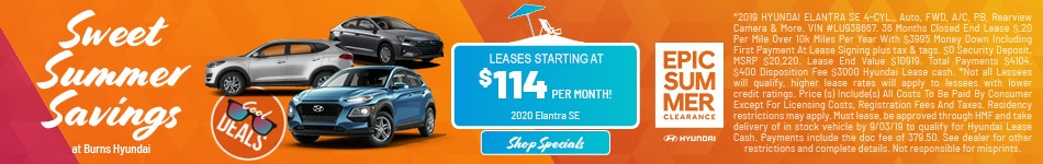 2019 - Summer Savings - August