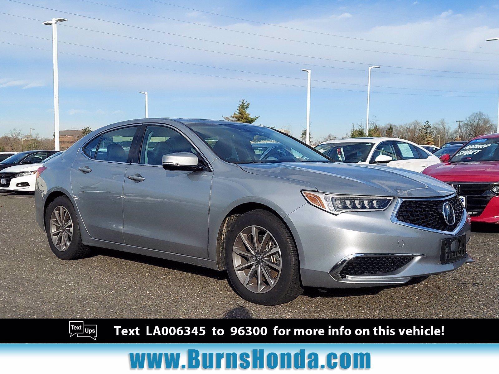 Used 2020 Acura Tlx For Sale At Burns Honda Vin 19uub1f51la006345