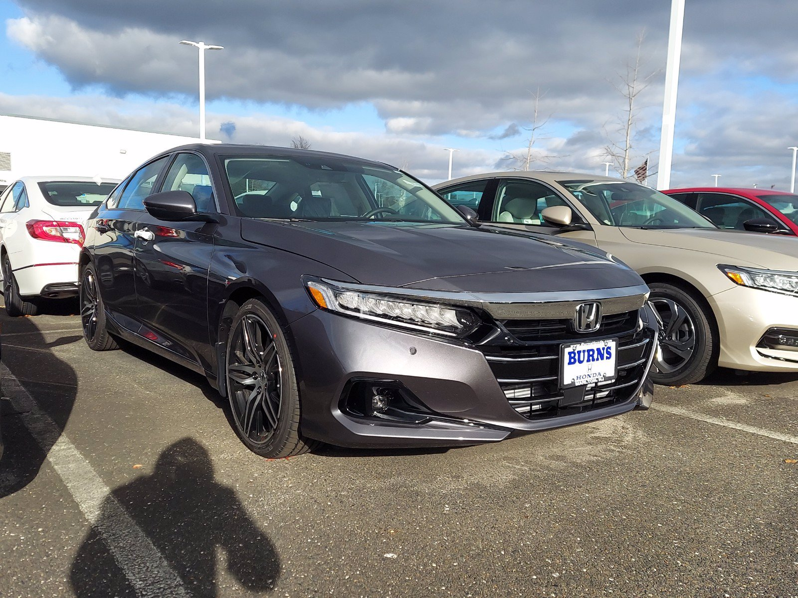 New 2021 Honda Accord For Sale At Burns Honda Vin 1hgcv2f90ma000890