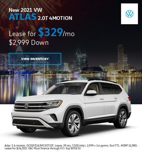 New 2021 VW Atlas 2.0T 4MOTION