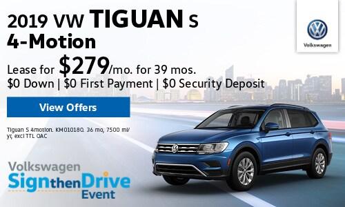 New 2019 VW Tiguan