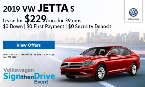 New 2019 VW Jetta