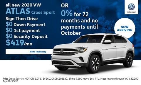 All New 2020 VW Atlas Cross Sport