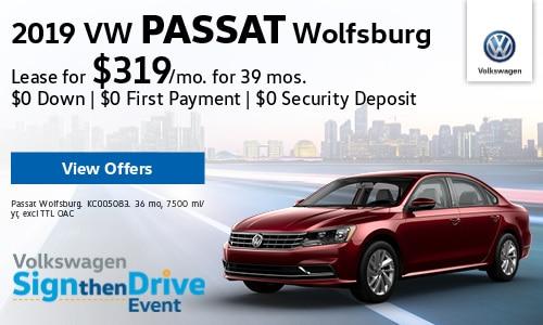 New 2019 VW Passat