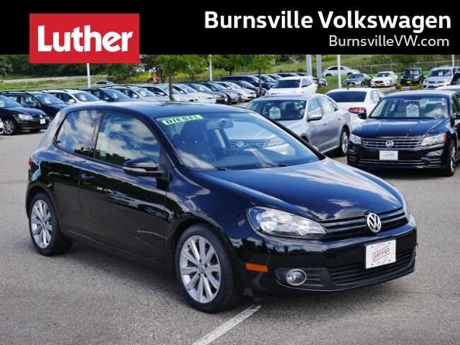 2012 Volkswagen Golf TDI w/Sunroof & Nav Hatchback