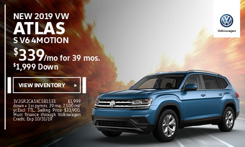 2019 Atlas S V6 4-motion