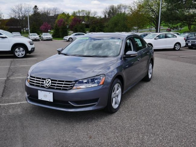 Used 2012 Volkswagen Passat For Sale at Luther Automotive