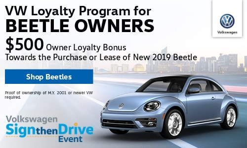 New 2019 VW Beetle