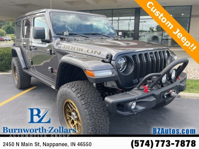 2021 Jeep Wrangler Unlimited Rubicon 4X4 Carbon Edition Sport Utility