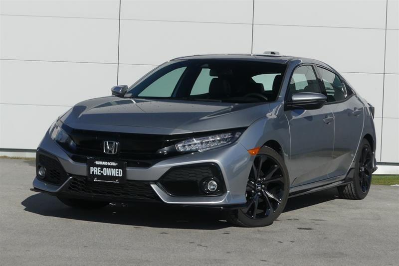 2018 Honda Civic Hatchback Sport Touring HS CVT Hatchback