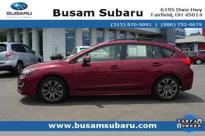 Subaru Impreza Hatchback For Sale >> Used 2016 Subaru Impreza For Sale Fairfield Cincinnati Oh Stock G8290828