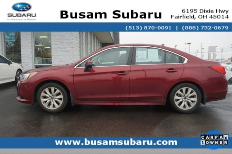 Certified Pre Owned 2016 Subaru Legacy 2.5i Sedan 4S3BNBH67G3043659 Cincinnati