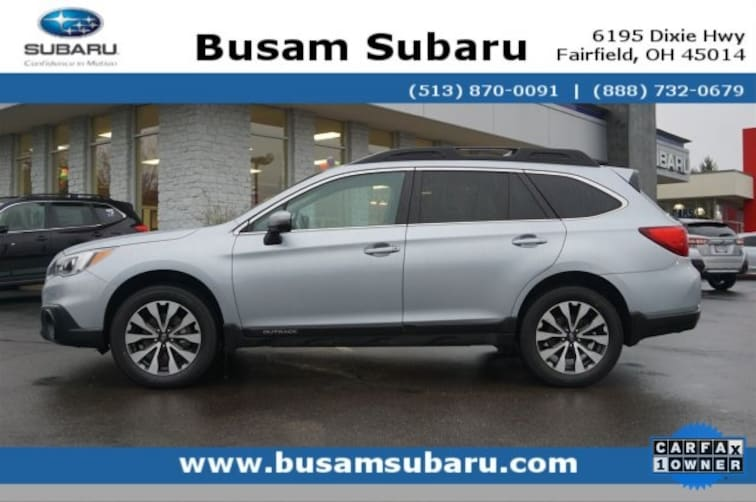 Certified Pre Owned 2017 Subaru Outback 2.5i SUV 4S4BSAKC2H3332642 Cincinnati