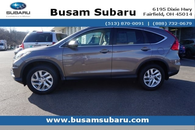 Featured Used 2015 Honda CR-V EX-L SUV 5J6RM4H7XFL053374 for Sale near Cincinnati, OH