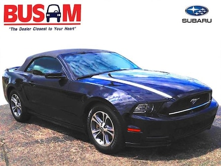 Featured Used 2014 Ford Mustang V6 Convertible 1ZVBP8EM8E5292633 for Sale near Cincinnati, OH