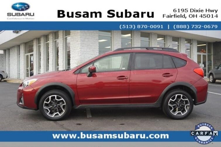 Certified Pre Owned 2017 Subaru Crosstrek 2.0i Premium SUV JF2GPABCXH8264414 Cincinnati