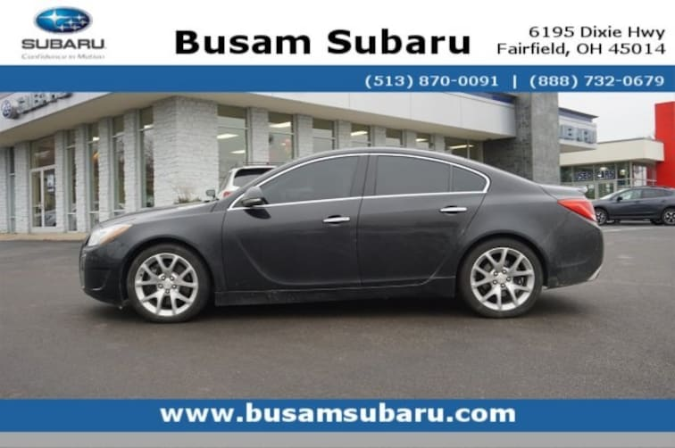 Used 2013 Buick Regal GS Sedan 2G4GV5GV4D9249150 Cincinnati