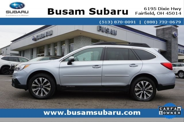 Featured Used 2017 Subaru Outback 2.5i SUV 4S4BSANC0H3238545 for Sale near Cincinnati, OH